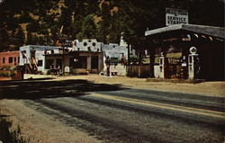 Shady Brook Store & Station, gold Indian Motel & Restaurant