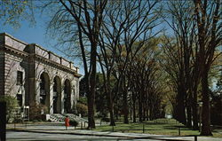 Schwab Auditorium and the Mall, The Pennsylvania State University Postcard