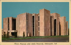 Clowes Memorial Hall, Butler University