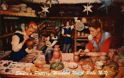 Santa's Pottery Workers
