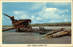 Peter Iredale Wrecked 1906