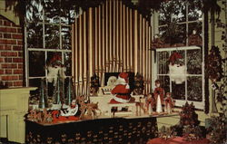 Santa Claus Shop Postcard