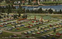 Aerial View of Municipal Trailer Park