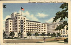 Cullen Nurses' Building and Memorial Hospital
