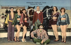 Gainesville Community Circus Postcard