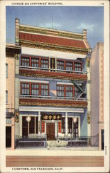Chinese Six Companies' Building, Chinatown