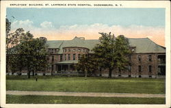 Employees' Building, St. Lawrence State Hospital