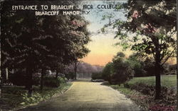 Entrance to Briarcliff Junior College