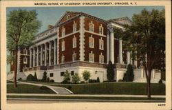 Maxwell School of Citizenship, Syracuse University