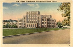 Liberal Arts Building, University of Wyoming