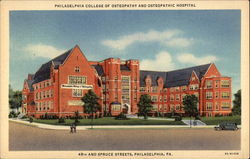 Philadelphia College of Osteopathy and Osteopathic Hospital
