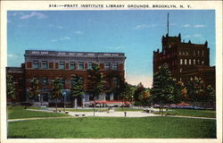 Pratt Institute Library Grounds