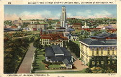 Schenley Farm District Showing Carnegie Tech., University of Pittsburgh and Cathedral of Learning