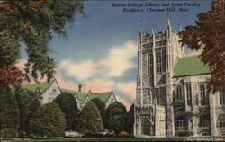 Boston College Library and Jesuit Faculty Residence