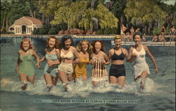 Year Round Bathing at Florida's Famed Silver Springs