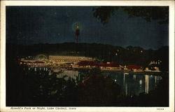 Arnold's Park at Night, Lake Okoboji