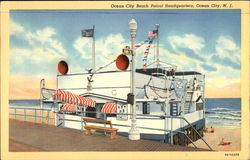 Ocean City Beach Patrol Headquarters Postcard
