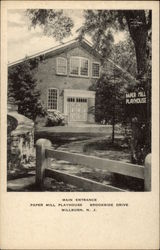 Main Entrance - Paper Mill Playhouse - Brookside Drive