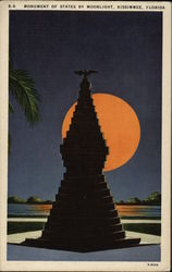 Monument of the States by Moonlight, Kissimmee, Florida