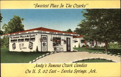 "Andy's Famous Ozark Candies, ""Sweetest Place in the Ozarks"""