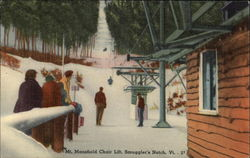Mt. Mansfield Chair Lift, Smuggler's Notch