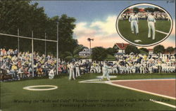 Ball Clubs, Waterfront Park Postcard