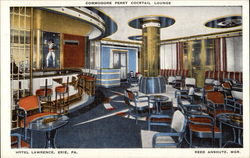 Commodore Perry Cocktail Lounge at the Hotel Lawrence