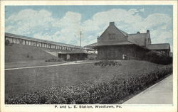 P. and L. E. Station