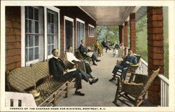 Veranda of the Chapman Home for Ministers