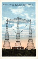 Wireless towers at Naval Radio Station