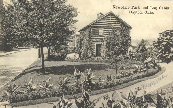 Newcomb Park And Log Cabin Dayton Ohio