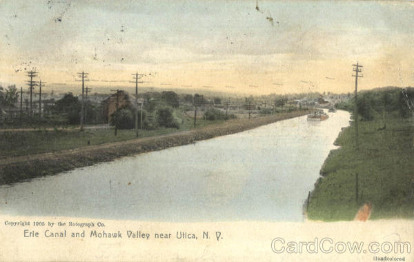 Erie Canal And Mohawk Valley Utica New York