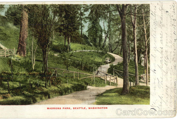 Madrona Park Seattle Washington