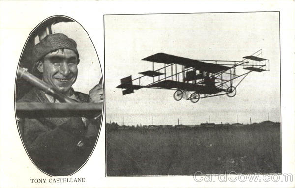 Aviator Tony Castellane Aircraft