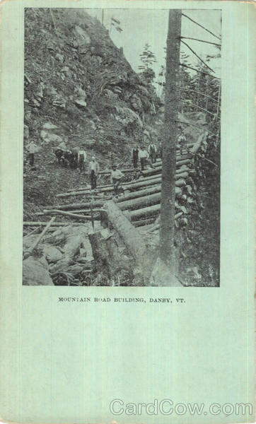 Mountain Road Building Danby Vermont
