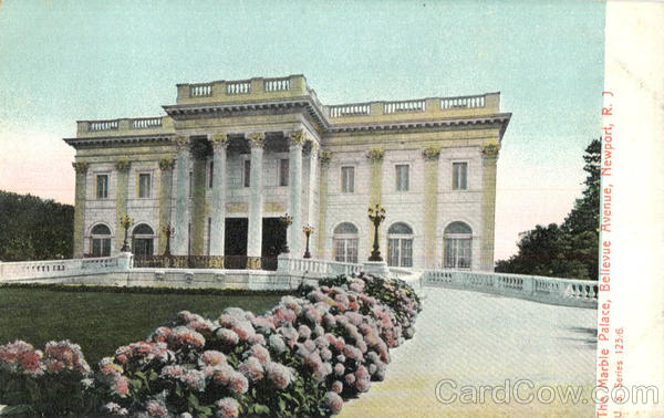 The Marble Palace, Bellevue Avenue Newport Rhode Island