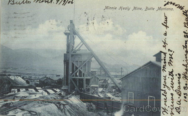 Minne Healy Mine Butte Montana