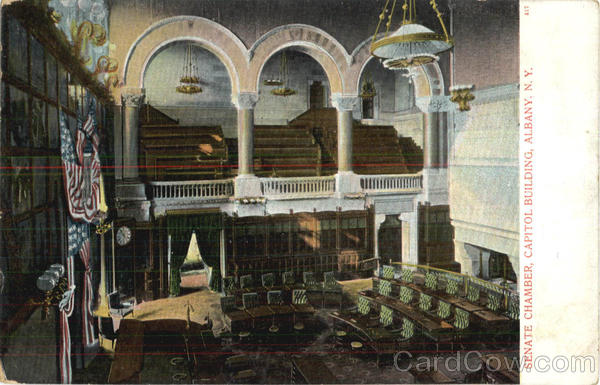 Senate Chamber, Capitol Building Albany New York