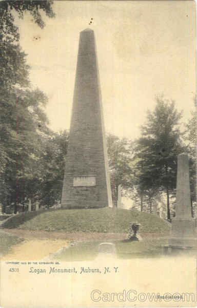 Logan Monument Auburn New York