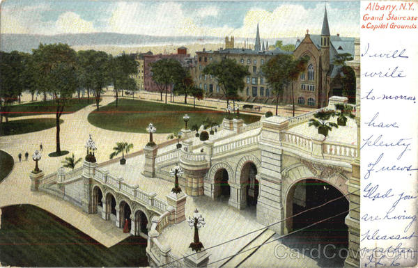 Grand Staircase & Capitol Grounds Albany New York
