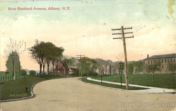New Scotland Avenue Albany New York
