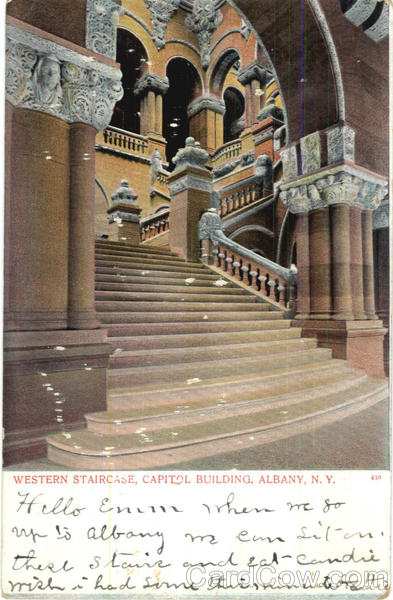 Western Staircase Albany New York