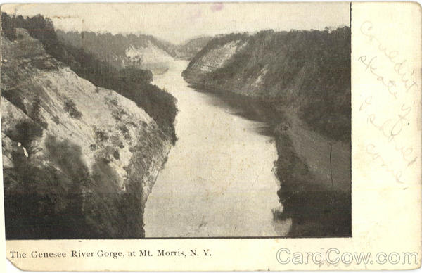 The Genesee River Gorge Mt. Morris New York