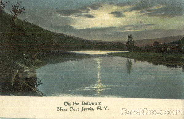 On The Delaware Port Jervis New York