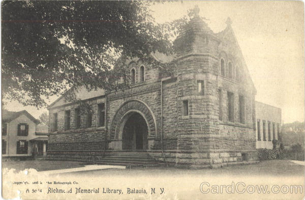 Richmond Memorial Library Batavia New York