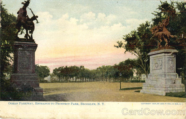 Ocean Parkway Entrance To Prospect Park Brooklyn New York