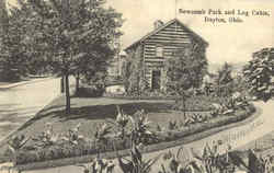 Newcomb Park And Log Cabin