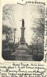 Rosenberg Monument To The Heroes Of Texas Postcard