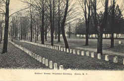 Soldiers' Graves, Woodlawn Cemetery
