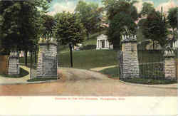 Entrance To Oak Hill Cemetery